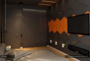 Гипсовые 3d панели Alivio серии Nexus , дизайн студия Status DS, 3d wallpanel, производитель цена купить Украина  alivio.com.ua