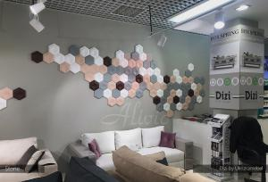 Гипсовые 3d панели Alivio серии Stone в мебельном магазине Dizi by Ukrizramebel, производитель цена купить Украина  alivio.com.ua
